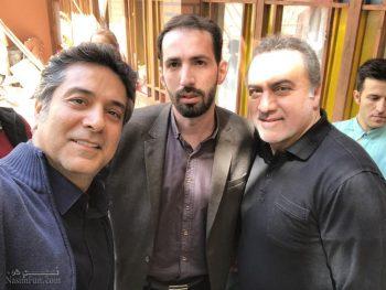 بیوگرافی فرهاد قائمیان و همسرش و عکس های فرزندانش