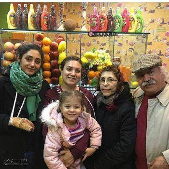 بیوگرافی بهزاد فراهانی و همسر و دخترانش و تصاویر آنها