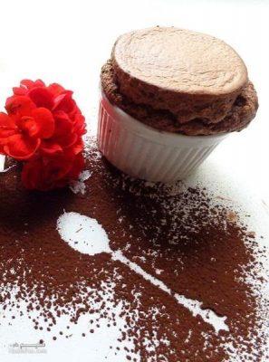 طرز تهیه سوفله شکلات خوشمزه