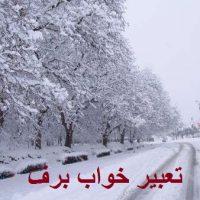 تعبیر خواب برف + تعبیر خواب باریدن و آب شدن برف