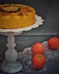 طرز تهیه دسر محلبی سیب دارچینی خوشمزه + فیلم آموزشی