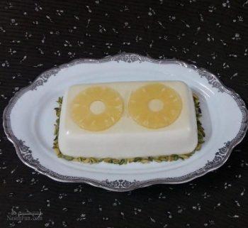طرز تهیه دسر پارافه آناناس خوشمزه و شیک