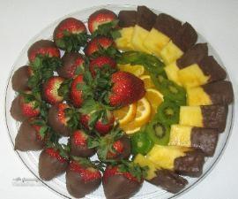 طرز تهیه دسر آناناس شکلاتی خوش طعم و مجلسی