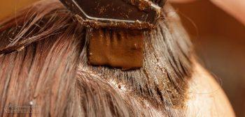 رنگ کردن مو در منزل