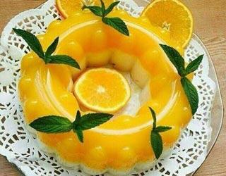 طرز تهیه دسر موس پرتقالی خوشمزه + فیلم آموزشی