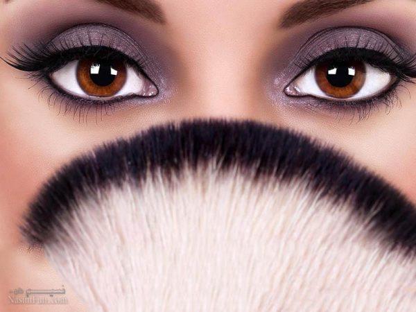 بهترین رنگ سایه ها برای آرایش چشم های قهوه ای