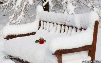 عکس رمانتیک زمستانی