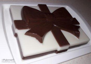 طرز تهیه دسر ژله شیر کاکائو خوشمزه