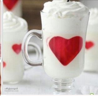 طرز تهیه ژله عاشقانه خوشمزه + تزیین