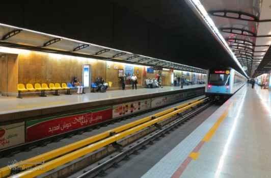 نقشه مترو تهران + جزئیات ایستگاهها