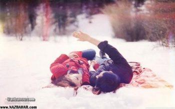 عکس پروفایل عاشقانه زمستانی