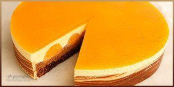 طرز تهیه دسر موس پرتقالی خوش طعم + تزیین