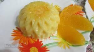 طرز تهیه دسر فرماژ پرتقالی خوشمزه + تزیینات