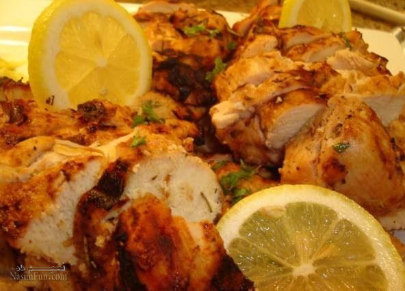 طرز تهیه خوراک مرغ با سیر و لیمو تازه و خوشمزه