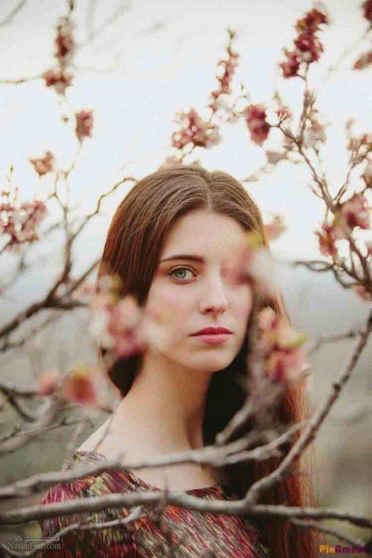 عکس نوشته دخترونه بهاری