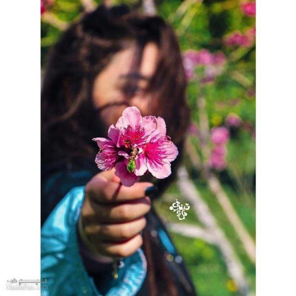 عکس نوشته دخترونه متولدفصل بهار