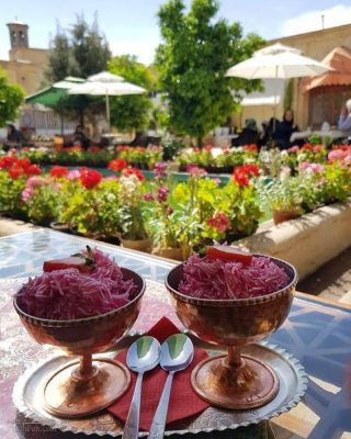 طرز تهیه فالوده شیرازی سنتی خوشمزه