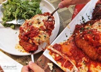 طرز تهیه خوراک مرغ و پارمزان خوشمزه