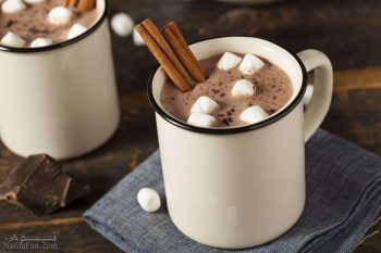 طرز تهیه هات چاکلت خوش طعم