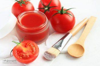 ماسک گوجه فرنگی برای پوست