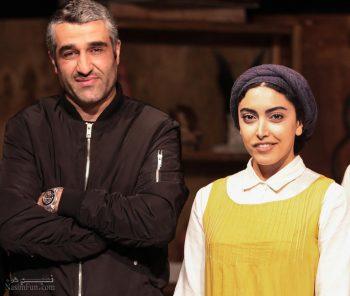 بیوگرافی و تصاویر ساناز طاری و همسرش