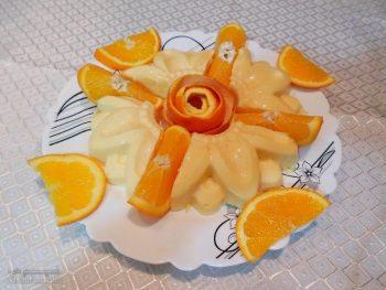 طرز تهیه دسر فرماژ پرتقالی شیک