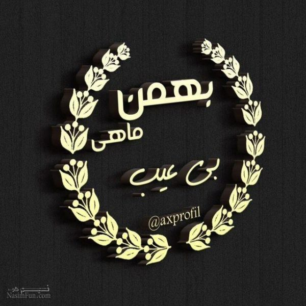 عکس نوشته پسرونه متولدین بهمن
