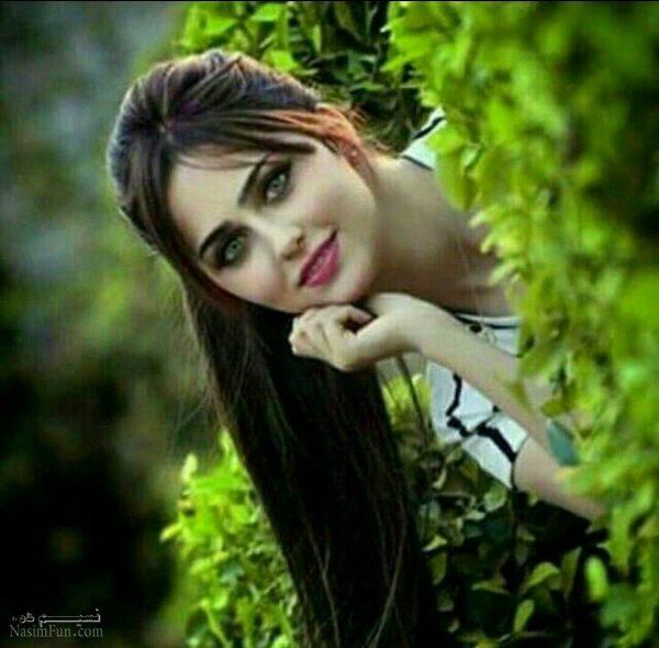 عکس نوشته دختربهاری