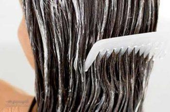 تهیه نرم کننده طبیعی موی سر در منزل