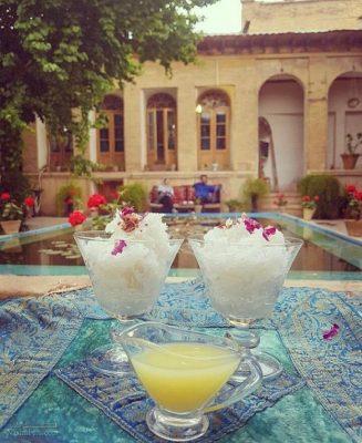 طرز تهیه فالوده شیرازی سنتی + فیلم آموزشی