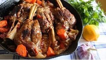 طرز تهیه خوراک گوشت و به لذیذ ایرانی+فیلم آموزشی