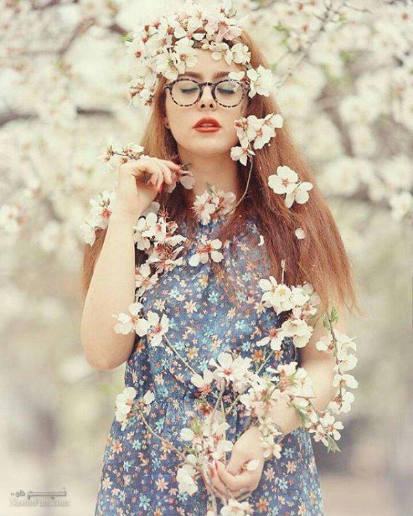 پروفایل دخترونه بهاری