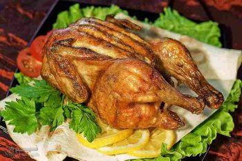 طرز تهیه خوراک مرغ اسپانیایی خوشمزه و مجلسی + فیلم آموزشی