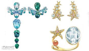 نمونه های جواهرات سواروسکی