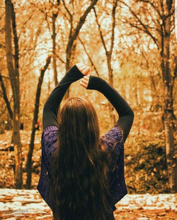 عکس نوشته دخترونه پاییزی