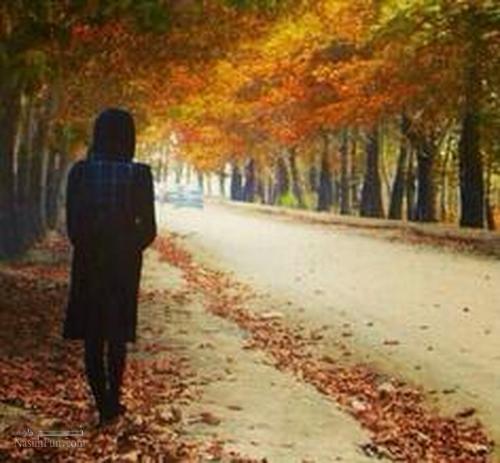 عکس نوشته دخترونه خاص پاییزی