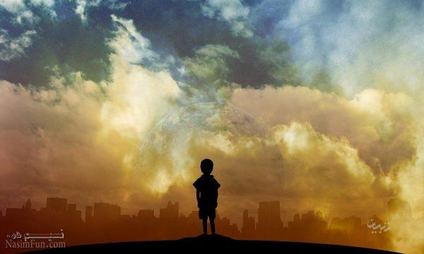 عکس نوشته پسرونه پاییزی