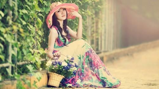 عکس نوشته شیک تابستانی دخترانه