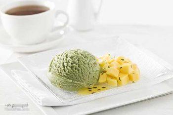 طرز تهیه بستنی طالبی دلچسب + تزیین