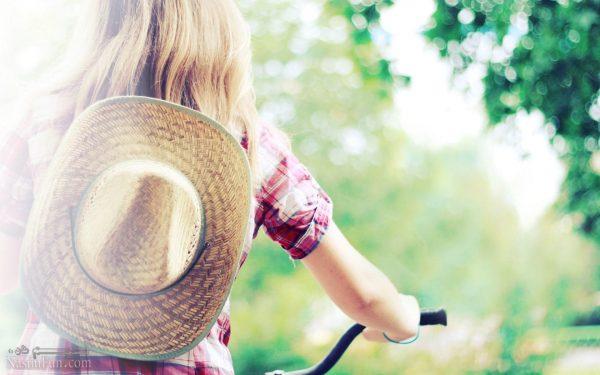 عکس نوشته دخترونه خاص تابستانی