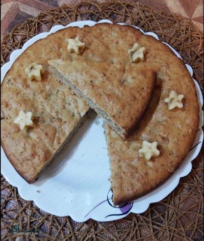 طرز تهیه کیک موزی خوش طعم + تزیین