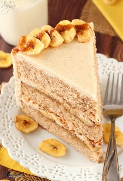 طرز تهیه کیک موزی خوشمزه + فیلم آموزشی