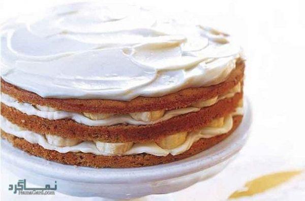 کیک موزی خوش طعم