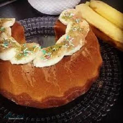 کیک موزی خوشمزه