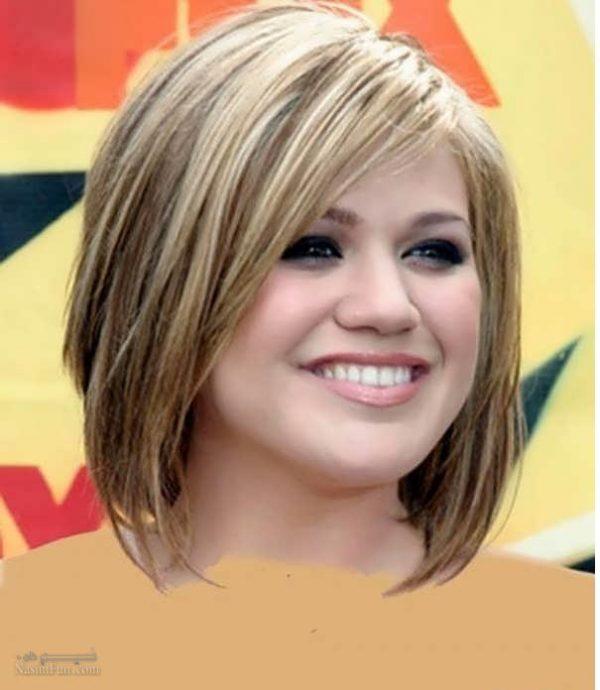 بهترین مدلهای موی کوتاه برای صورت های گرد