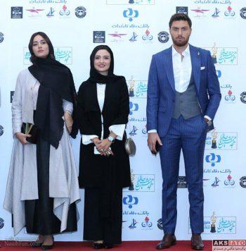 مدل لباس پریناز ایزدیار ،گلاره عباسی و امیر حسین فتحی