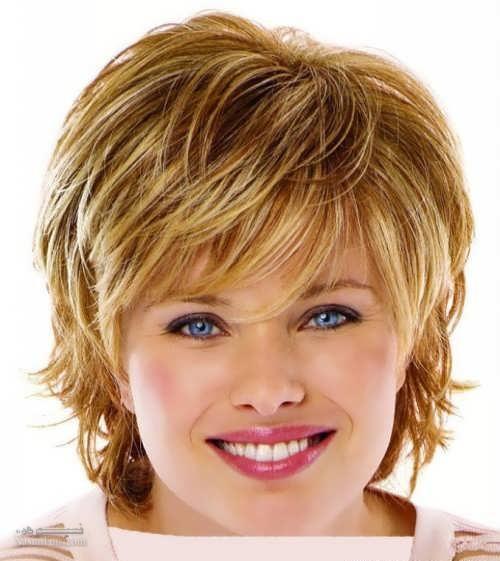 زیباترین مدل کوتاهی مو برای صورت های گرد