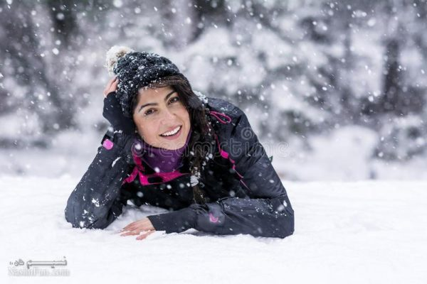 عکس نوشته شیک زمستانی دخترانه