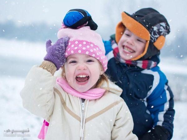 عکس نوشته شیک زمستانی پسرانه
