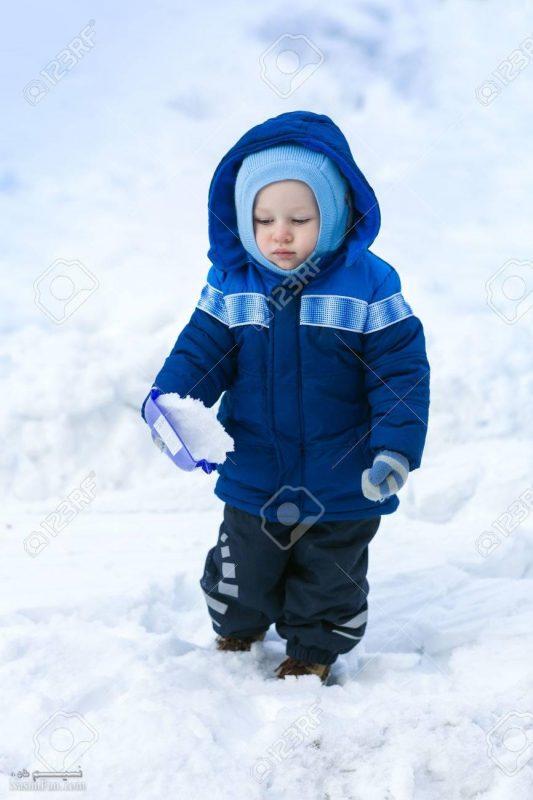 عکس نوشته پسرونه زمستانی